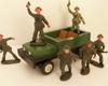 żołnierzyki z prl-u Kioskowce