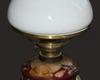 lampa naftowa majolika